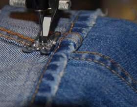 Як зшити джинси? фото