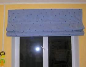 Як зшити римські штори? фото