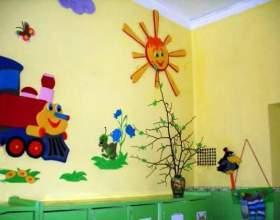 Як прикрасити детский сад? фото