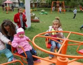 Як прикрасити дитячу площадку? фото