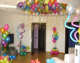 Як прикрасити будинок на день народження? фото