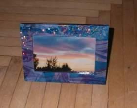 Як прикрасити рамку? фото