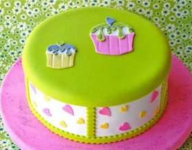 Як прикрасити торт на день народження? фото