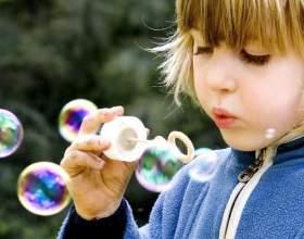 Як в домашніх умовах зробити мильні бульбашки? фото