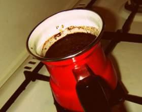 Як варити каву в турці, рецепти фото