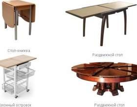 Як вибрати кухонний стіл фото