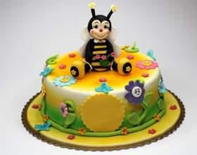 Як вибрати смачний і корисний дитячий торт? фото