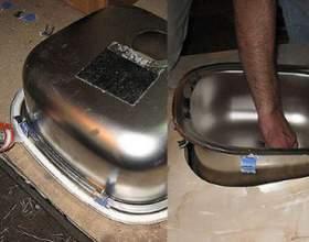 Як закріпити мийку? фото
