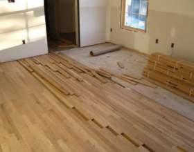 Як замінити підлогу в квартирі? фото