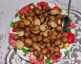Як запекти картоплю в мікрохвильовці? фото