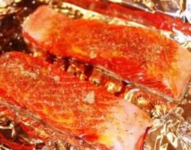 Як запекти червону рибу? фото