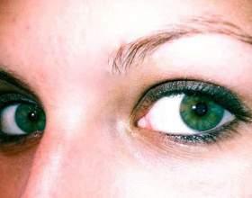 Який колір волосся підходить до зелених очей? фото