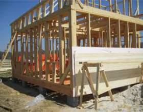 Каркасне будівництво з клеєного бруса фото