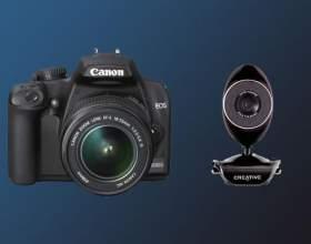 Чи можна використовувати фотоапарат як веб камеру? фото