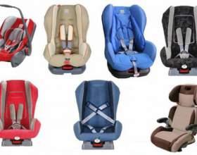 Автомобільні крісла. фото