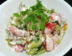 Рецепти салатів з крабовими паличками фото