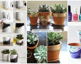 Зроби сам: 10 ідей, як перетворити глиняні горщики цього літа фото