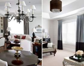 Штори до білих шпалерах: нюанси декору (4 фото) фото