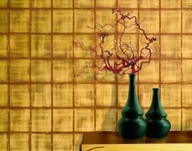Текстильні шпалери фото