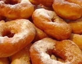 Повітряні пончики на кефірі фото