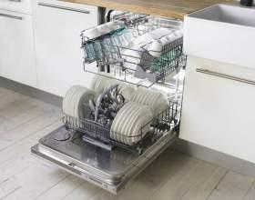 Вбудована посудомийна машина фото
