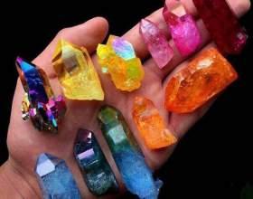 Вирощуємо справжній кристал своїми руками фото